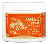 DMSO Cream Rose Scented