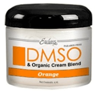 DMSO Low Odor Organic Hydrating Cream (Orange)