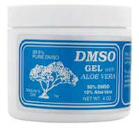 Unfragranced DMSO Gel with Aloe Vera